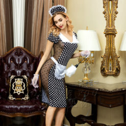 fancy dress french maid outfit