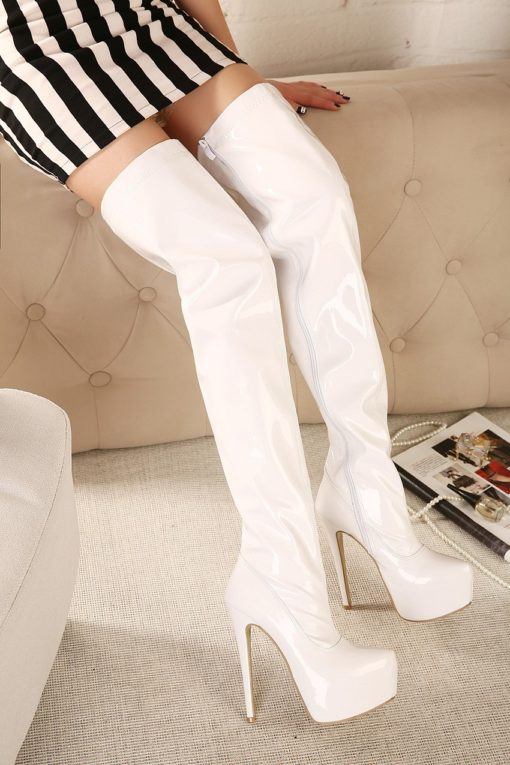 white sexy kinky boots
