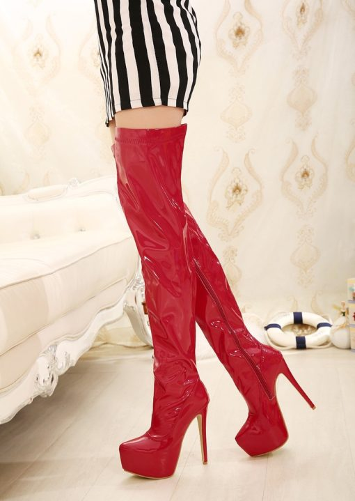 red sexy kinky boots