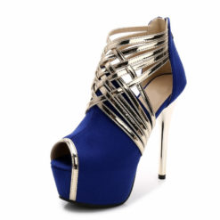 stiletto high heel strappy shoes
